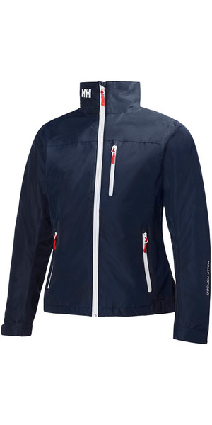 2018 Helly Hansen Ladies Mid Layer Crew Jacket NAVY 30317