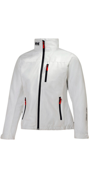 2018 Helly Hansen Ladies Mid Layer Crew Jacket WHITE 30317