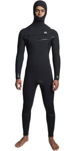 2019 Billabong Mens Furnace Carbon Ultra 6/5mm Hooded Chest Zip Wetsuit Black Q46M01