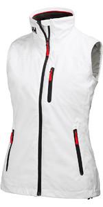 Helly Hansen Womens Crew Midlayer Vest White 31334