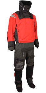 2020 Typhoon PS440 Hinge-Entry Drysuit Red / Grey