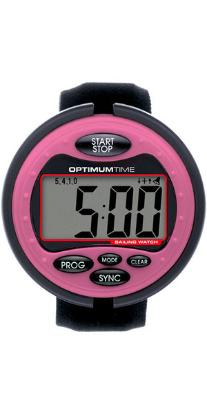 2019 Optimum Time Series 3 OS3 Sailing Watch PINK 319