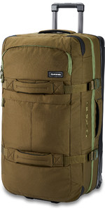 2020 Dakine Split Roller 110L Wheeled Bag 10002942 - Dark Olive