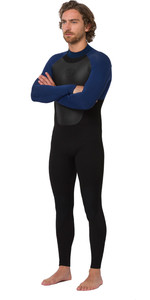 2020 Animal Mens Lava 5/4/3mm Back Zip Wetsuit AW0SS003 - Black