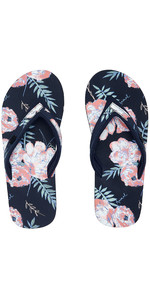 2020 Animal Womens Swish Slim AOP Flip Flops / Sandals FM0SS304 - India Ink Blue