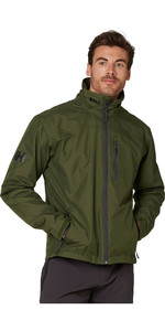 2021 Helly Hansen Mens Crew Midlayer Jacket 30253 - Forest Night