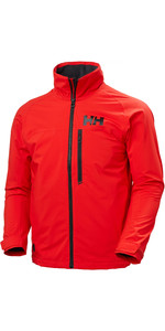2021 Helly Hansen Mens HP Racing Midlayer Jacket 34041 - Alert Red