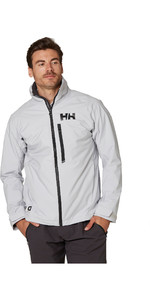 2021 Helly Hansen Mens HP Racing Midlayer Jacket 34041 - Grey Fog