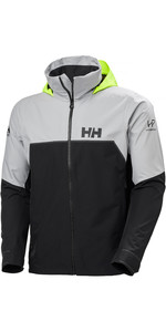 2021 Helly Hansen Mens HP Foil Light Sailing Jacket 34151 - Ebony