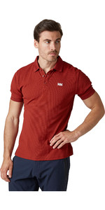 2020 Helly Hansen Mens Driftline Polo Shirt 50584 - Oxblood