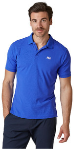 2021 Helly Hansen Mens Driftline Polo Shirt 50584 - Royal Blue