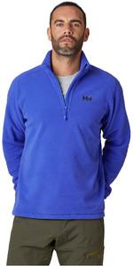 2021 Helly Hansen Mens Daybreaker 1/2 Zip Fleece 50844 - Royal Blue