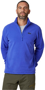 2020 Helly Hansen Mens Daybreaker 1/2 Zip Fleece 50844 - Royal Blue