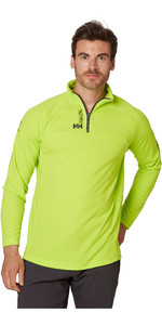 2021 Helly Hansen Mens HP 1/2 Zip Technical Pullover 54213 - Azid Lime