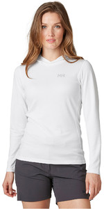 2020 Helly Hansen Womens Lifa Active Solent Hoody 49344 - White