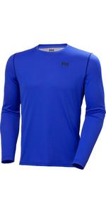 2020 Helly Hansen Mens Lifa Active Solen Long Sleeve Top 49348 - Royal Blue