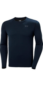 2020 Helly Hansen Mens Lifa Active Solen Long Sleeve Top 49348 - Navy