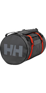 2020 Helly Hansen 30L Duffel Bag 2 68006 - Ebony / Cherry Tomato