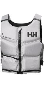 2020 Helly Hansen Rider Stealth Zip 50N Buoyancy Aid 33841 - Grey Fog