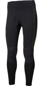 2021 Helly Hansen Mens Water Wear 2mm Neoprene Trousers 34017 - Black