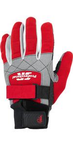 2021 Palm Pro 2mm Neoprene Gloves 12331 - Red