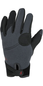 2021 Palm Throttle 2mm Neoprene Gloves 12332 - Jet Grey