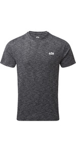 2020 Gill Mens Holcombe Crew Short Sleeve Base Layer 1103 - Charcoal