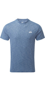 2021 Gill Mens Holcombe Crew Short Sleeve Base Layer 1103 - Ocean