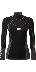 2020 Gill Womens Zentherm 2.5mm GBS Neoprene Top 5001W - Black
