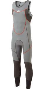 2020 Gill Mens Zenlite 2mm Flatlock Skiff Suit 5002 - Steel Grey