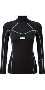 2021 Gill Womens Hydrophobe Long Sleeve Top 5006W - Black