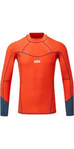 2020 Gill Mens Pro Long Sleeve Rash Vest 5020 - Orange