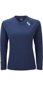 2020 Gill Womens Race Long Sleeve Tee RS37W - Dark Blue