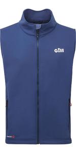 2021 Gill Mens Race Softshell Gilet RS40 - Dark Blue