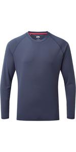 2021 Gill Mens Long Sleeve UV Tec Tee UV011 - Ocean