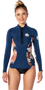 2020 Rip Curl Womens G-Bomb 1mm Neoprene Jacket WVE6KW - Navy