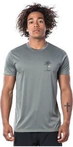 2020 Rip Curl Mens Black Hole Short Sleeve UV T-Shirt WLE9GM - Green Marle