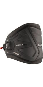 2021 Prolimit Type-T Windsurf Waist Harness 01020 - Hex Black