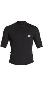 2020 Billabong Mens Absolute 2mm Short Sleeve Neoprene Jacket S42M74 - Black