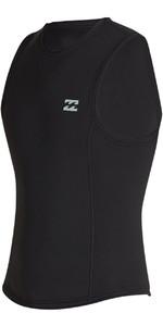 2020 Billabong Mens Absolute 2mm Neoprene Vest S42M75 - Black