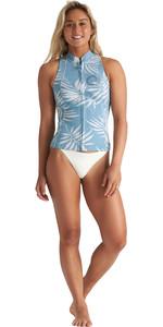 2020 Billabong Womens Salty Daze 1mm Neoprene Vest S41G54 - Blue Palms