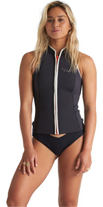 2020 Billabong Womens Eco Salty Daze 1mm Neoprene Vest S41G50 - Onyx