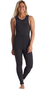 2020 Billabong Womens Eco Sol Sistah 2mm Zipperless Long Jane Wetsuit S42G51 - Onyx