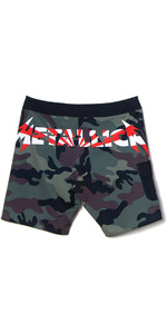 2020 Billabong Mens AI Metallica Boardshorts S1BS81 - Black