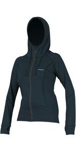 2020 O'Neill Womens Hybrid Long Sleeve Zipped Sun Hoody 5054 - Slate