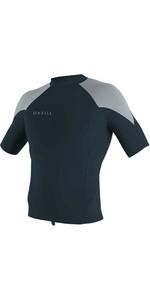 2020 O'Neill Mens Reactor II 1mm Neoprene Short Sleeve Top 5081 - Slate / Cool Grey