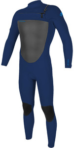 2020 O'Neill Mens Epic 3/2mm Chest Zip Wetsuit 5353 - Navy