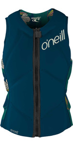 2020 O'Neill Womens Slasher Comp Impact Vest 4938EU - French Navy / Bridget