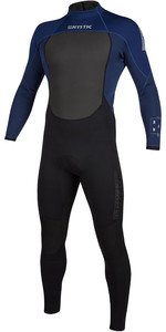 2021 Mystic Mens Brand 3/2mm Back Zip Wetsuit 200066 - Navy