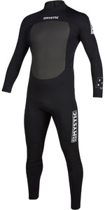 2020 Mystic Mens Brand 3/2mm Back Zip Wetsuit 200066 - Black